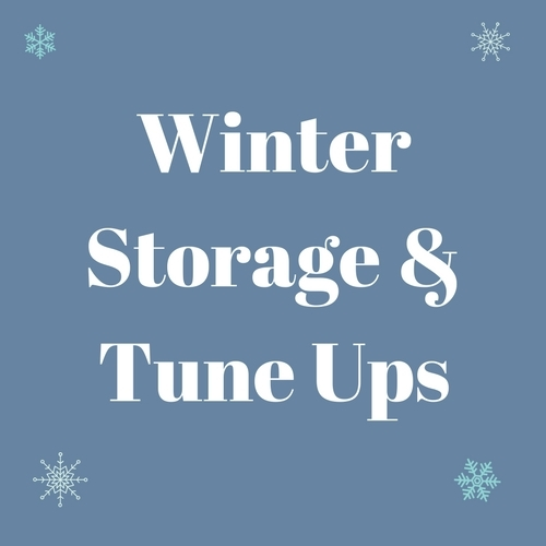 Winter Storage & Tune Up Specials