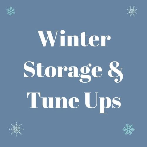 Winter Storage & Tune Up Specials