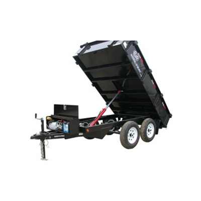 Croft Double Axle Dump Trailer