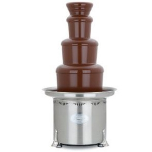 Large chocolate fountain