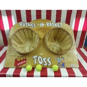 Carnival Games Bushel Basket Toss