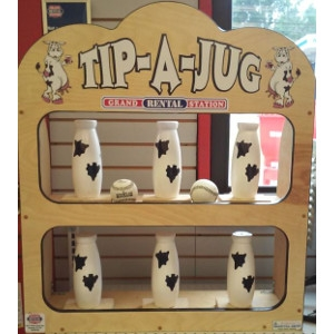 Canival Games Tip-A-Jug Baseball Game