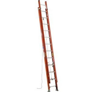 24' Fibgerglass D-Rung Extension Ladder