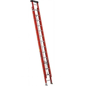 28' Fiberglass Multi-Section Extension Ladder