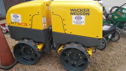 Wacker Neuson Double Roller Trencher