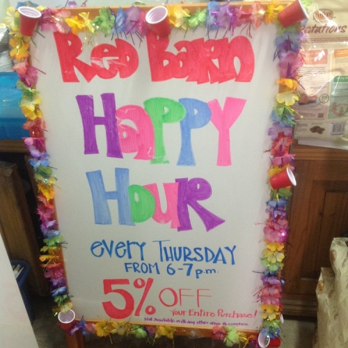 Red Barn Happy Hour