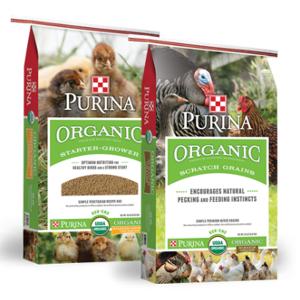$2.00 Off Purina Organic Starter & Organic Scratch