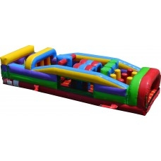 Inflatable Bounce, Obstacle Course