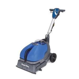 "Powr-Scrub 16"" Cylindrical Brush Scrubber Floor Cleaner"