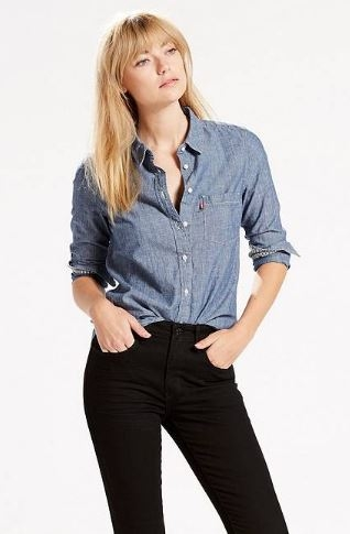 Levi's Classic One Pocket Chambray Shirt