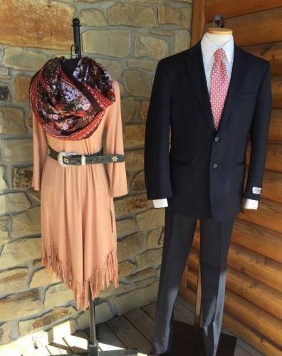 Wrangler Fringe Dress