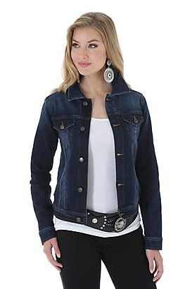 Wrangler® Premium Denim Jacket