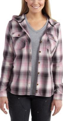 Carhartt Belton Hooded Flannel Shirt