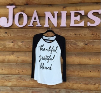 Thankful, Grateful, Blessed Shirt