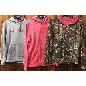 Women's Carhartt Force Extreme Signature Graphic Hooded Sweatshirts