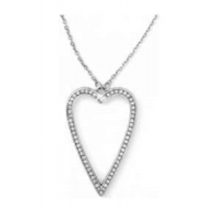 Brighton Starry Night Uber Heart Long Necklace