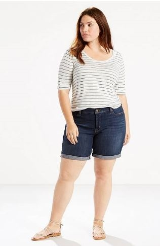 Levi Plus Mid Length Shorts