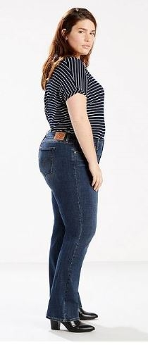Levi 414 Classic Straight Jeans (Plus)