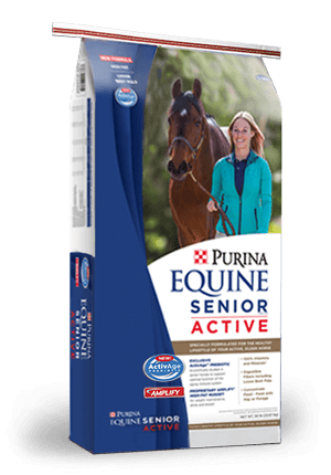 Purina Equine Senior Horse Feed Promotion
