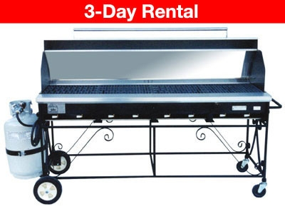 Grill, Propane 2x5 with top