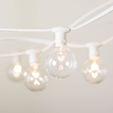 Tent Lights, Clear 25ft string