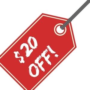 $20 Off Full Size Hot Dog Cart Rental!