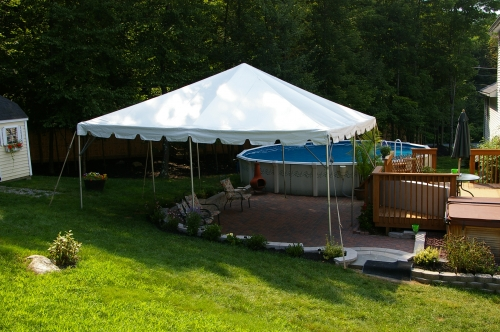 Frame Tent 15' x 15'
