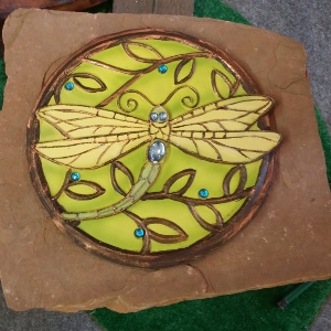 Dragon Fly Stepping Stone