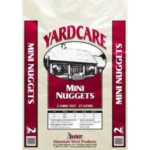 Mountain West Products Yardcare Mini Nuggets 2 Cu Ft