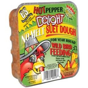 C&S Products Hot Pepper Delight No Melt Suet Dough