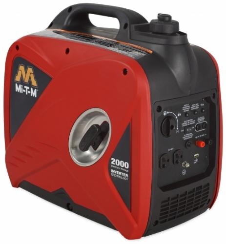 Generator, 2000 watt inverter