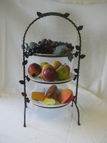 Tier Plate or Dessert Rack