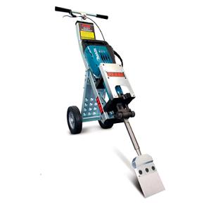 Pearl Abrasive Easy Hammer Dolly w/ Bosch 1135K Hammer