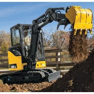 John Deere 26G Excavator