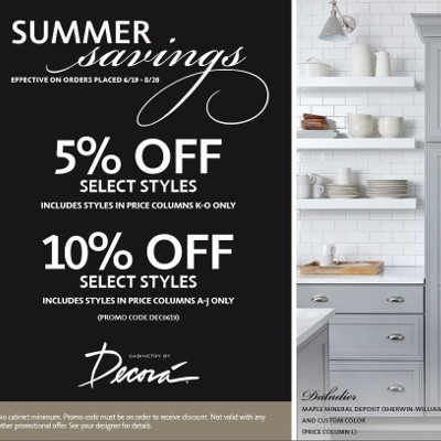 Decora Summer Savings