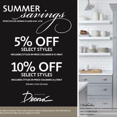 Decora Summer Savings