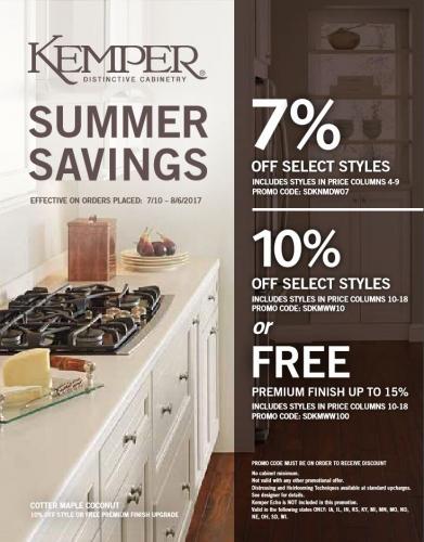Kemper Summer Savings