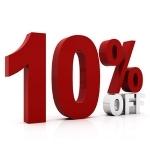 10% Off Aerators & Power Rake