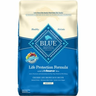 $45.99 for 30 lb Blue Buffalo Chicken & Rice Life