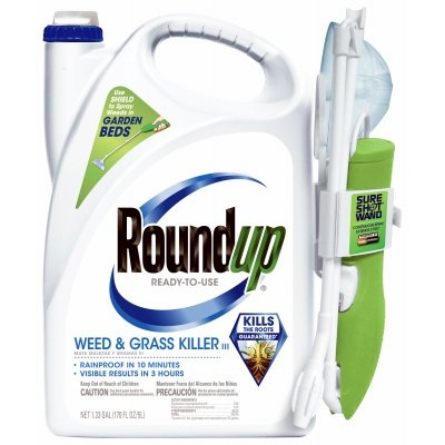 $24.98 for Roundup 1.33 gal. RTU Weed & Grass Kill