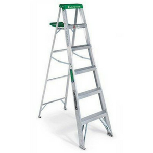 $39.99 Louisville 6 Ft Type II Aluminum Ladder