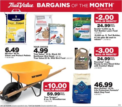 March Bargains!