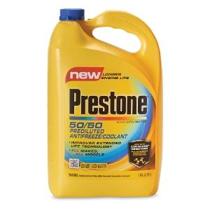 $7.99 For Prestone 50/50 Predilated Antifreeze