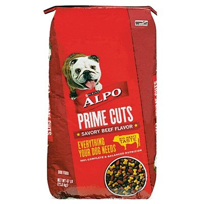 $19.99 47 Lb. Alpo Prime Cuts Dry Dog Food