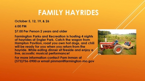 Farmington Family Halloween Hayride