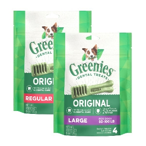 Greenies 12oz Dog Treats $7.99