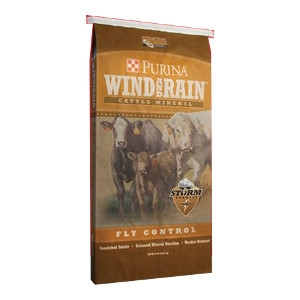 Wind and Rain® Storm®Fly Control Cattle Mineral