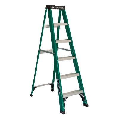 Louisville 6' Fiberglass Step Ladder, Type II