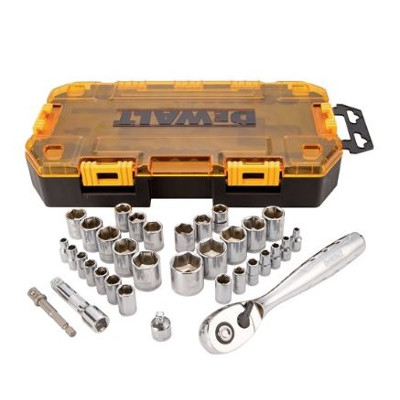 DeWalt 34 Piece Socket Wrench Set