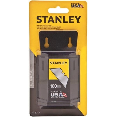 Stanley HD Utility Knife Blades, 100 Pack